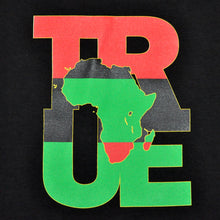 Load image into Gallery viewer, Mens True Logo Africa T-Shirt Black - Shop True Clothing
