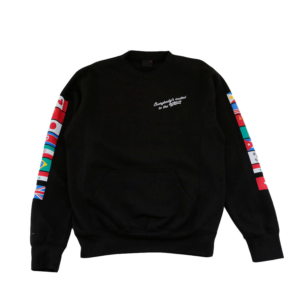 Mens True BBQ Crewneck Sweatshirt Black - Shop True Clothing