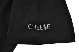 Mens True Cheese T-Shirt Black - Shop True Clothing