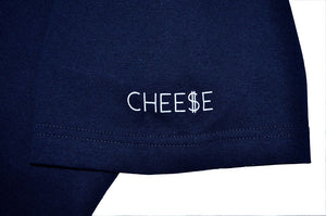 Mens True Cheese T-Shirt Navy - Shop True Clothing