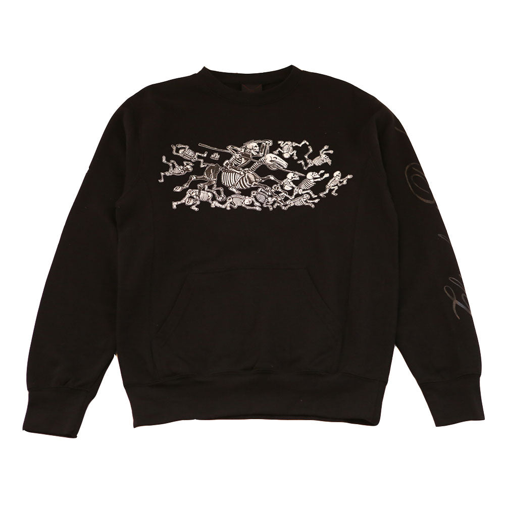 Mens True Chivalry Crewneck Sweatshirt Black - Shop True Clothing