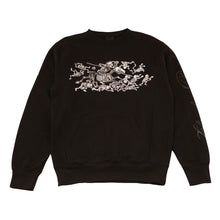 Load image into Gallery viewer, Mens True Chivalry Crewneck Sweatshirt Black - Shop True Clothing
