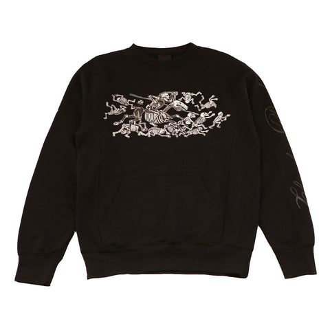 Mens True Chivalry Crewneck Sweatshirt Black