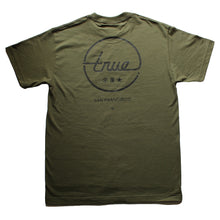Load image into Gallery viewer, Mens True Circle Darkside T-Shirt Olive