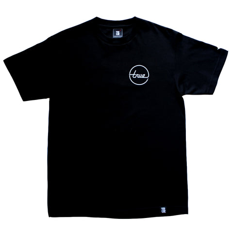 Mens True Circle Darkside T-Shirt Black
