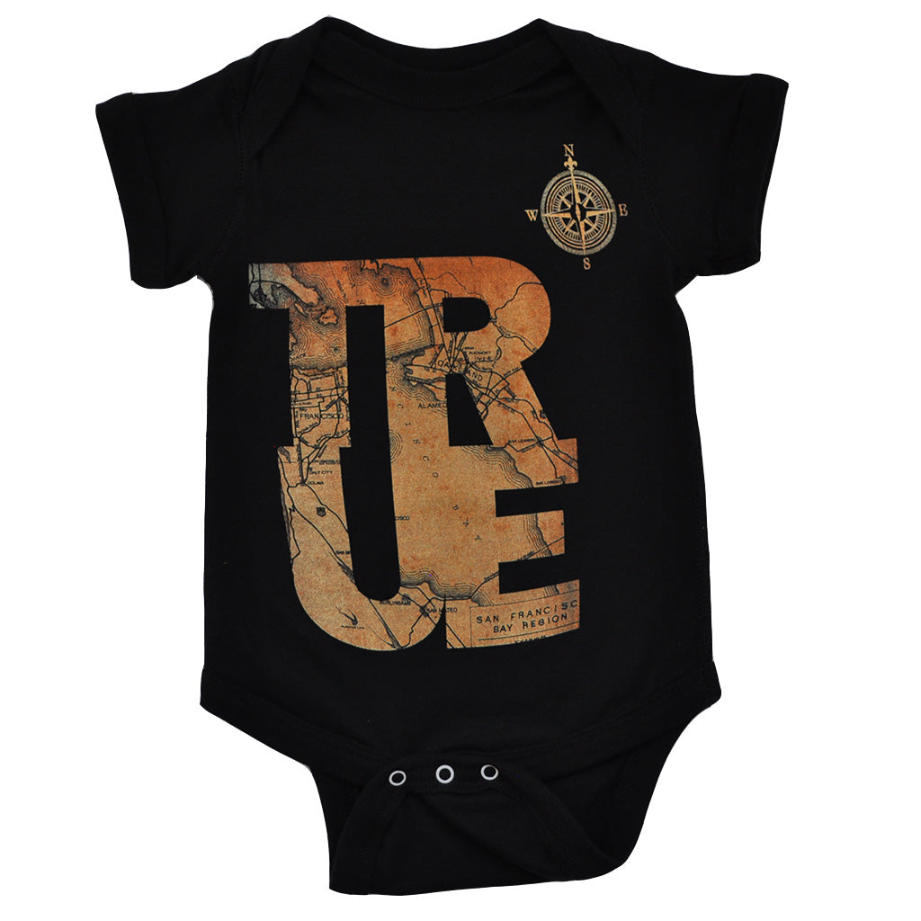 Kids True Compass One Piece Black - Shop True Clothing