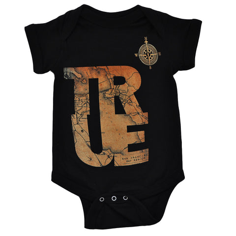 Kids True Compass One Piece Black