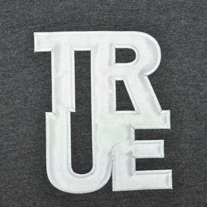 Mens True Logo Hoodie Charcoal - Shop True Clothing