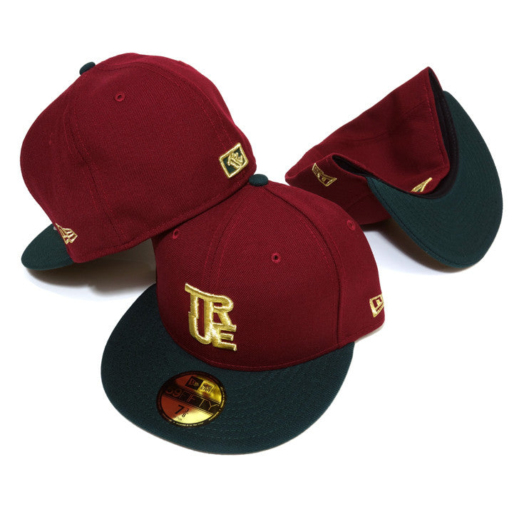 True Logo New Era Fitted Cap Gucci