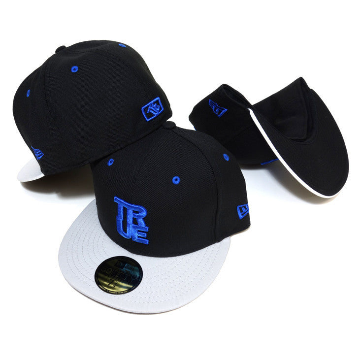True Logo New Era Fitted Cap AJ Blue