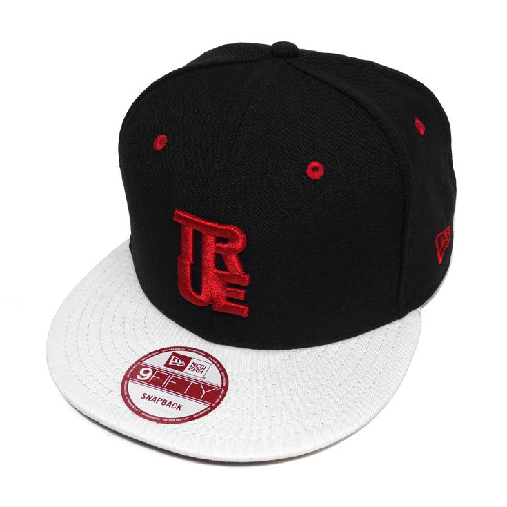 True Logo New Era Snapback Cap AJ Red - Shop True Clothing
