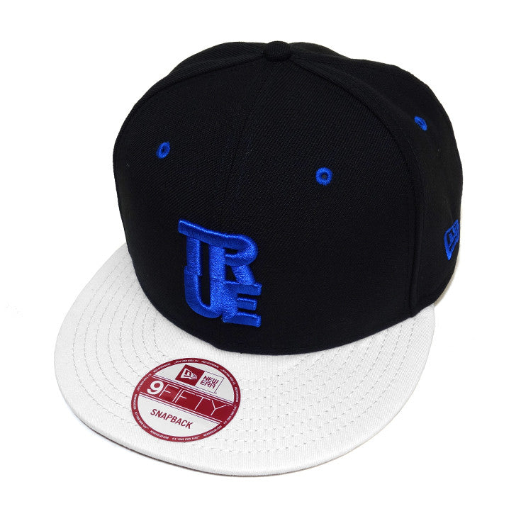 True Logo New Era Snapback Cap AJ Blue