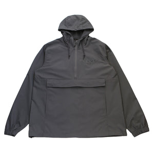 True Mens Established Basic Anorak Charcoal