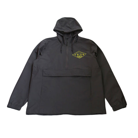 True Mens Established Basic Anorak Grey