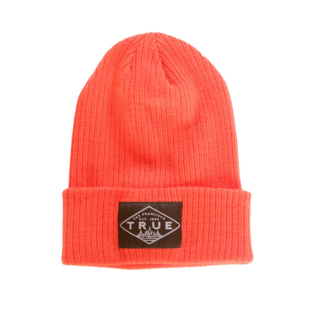 True For Vida Beanie Orange - Shop True Clothing