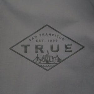 True Mens Established Anorak Charcoal