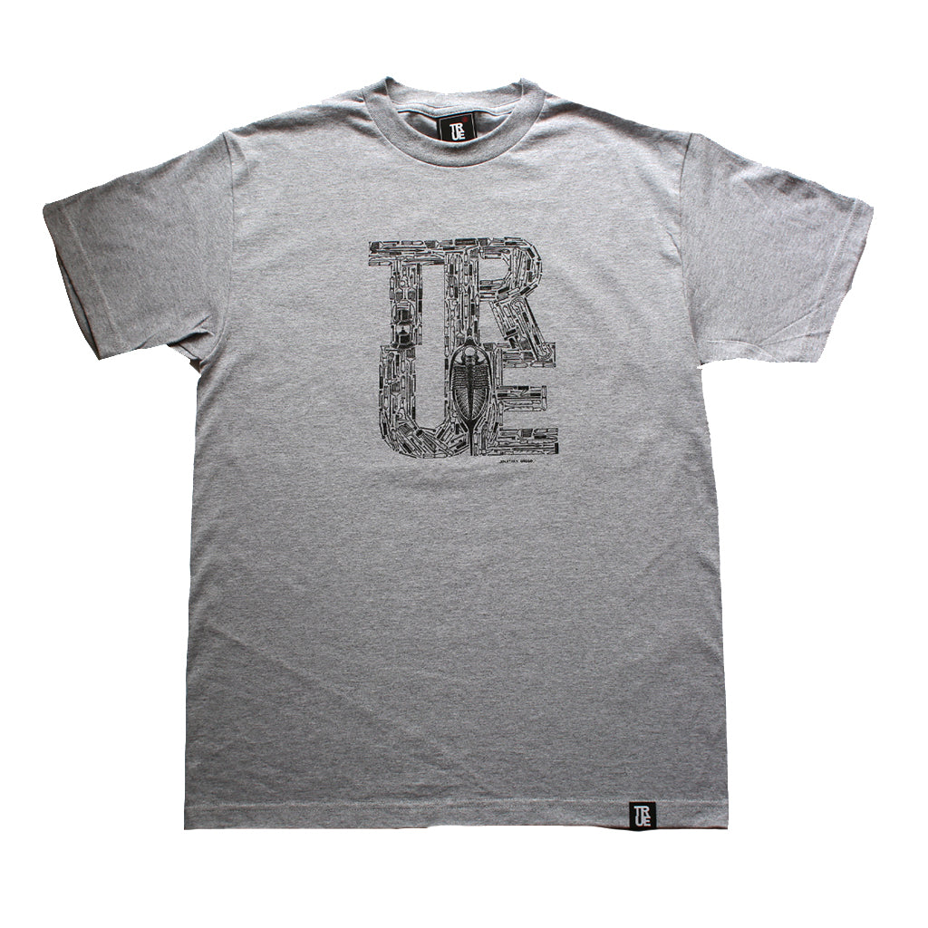 Mens True Fossilsphere T-Shirt Heather Grey