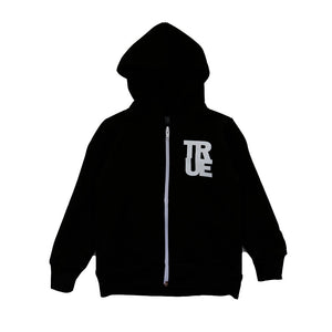 Kids True Floral Hoodie Black - Shop True Clothing