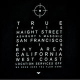 Mens Location Services T-Shirt Black - Shop True Clothing