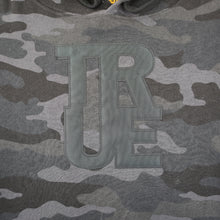 Load image into Gallery viewer, Mens True Logo Hoodie Black Camo