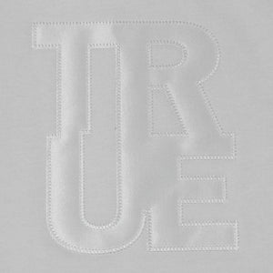 Womens True Logo Hoodie White - Shop True Clothing