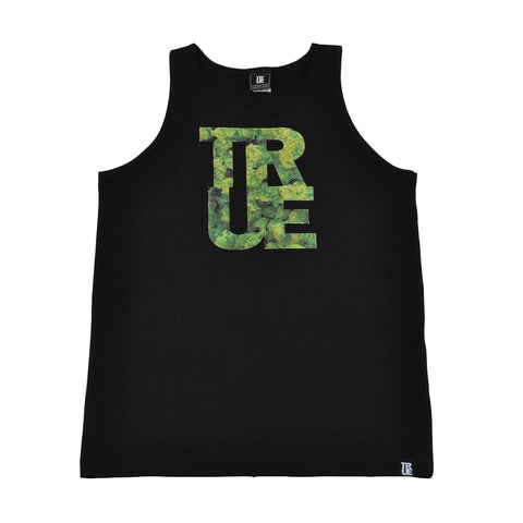 True Mens Logo THC Tank Top Black