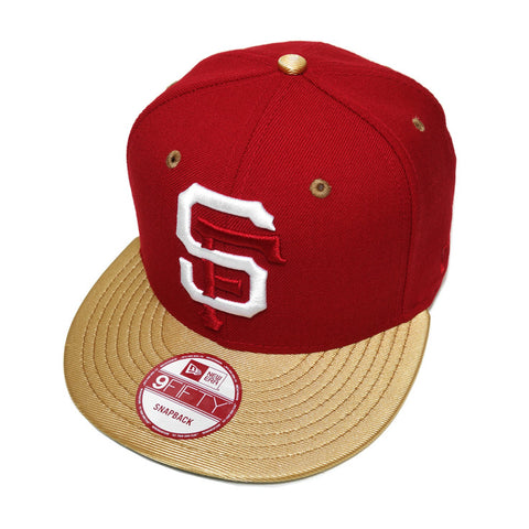 Mister SF x True SFG New Era Snapback Cap Niners