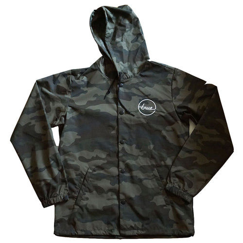 True Mens Nations 2 Hooded Rain Jacket Camo