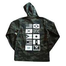 Load image into Gallery viewer, True Mens Nations 2 Hooded Rain Jacket Camo