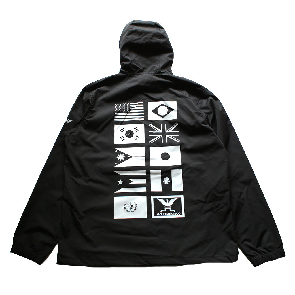 True Mens Nations 2 Anorak Black