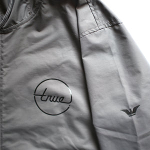 True Mens Nations 2 Anorak Charcoal