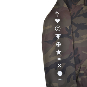 True Mens Pleasure Pain Coaches Jacket Camo - Shop True Clothing