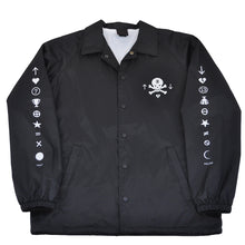 Load image into Gallery viewer, True Mens Pleasure Pain Coaches Jacket Black - Shop True Clothing
