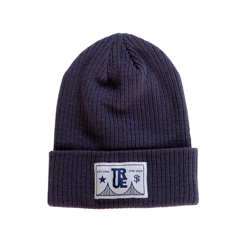 True For Vida Beanie Navy - Shop True Clothing