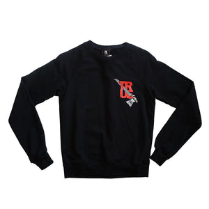 Womens True Royalty Crewneck Sweatshirt Black