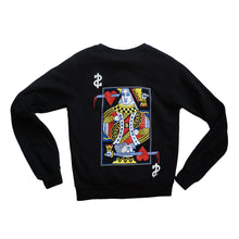 Load image into Gallery viewer, Womens True Royalty Crewneck Sweatshirt Black