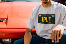Load image into Gallery viewer, Mens True Plates T-Shirt Heather Grey
