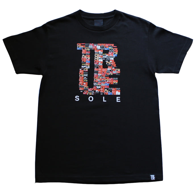 Mens True Sole 3 T-Shirt Black