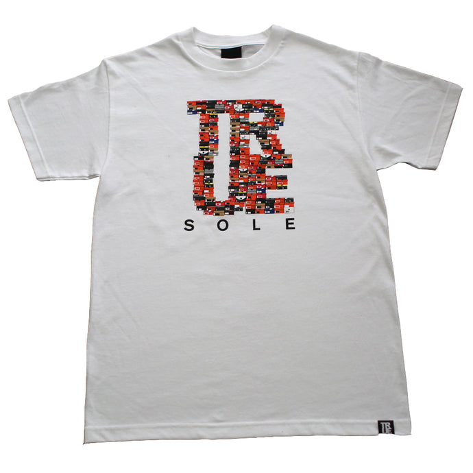 Mens True Sole 3 T-Shirt White