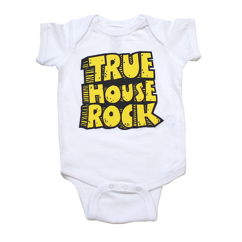 Kids True House Rocks One Piece White
