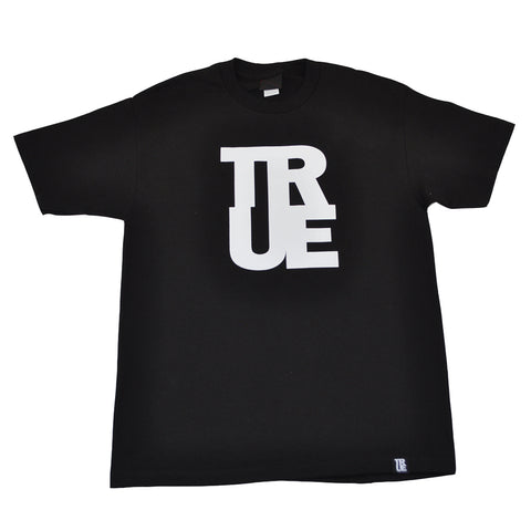 Mens True Logo T-Shirt Black/White