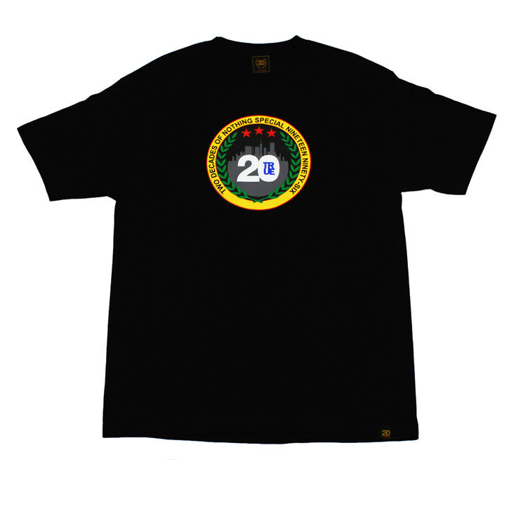 Mens True Two Decades T-Shirt Black