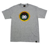 Mens True Two Decades T-Shirt Heather - Shop True Clothing