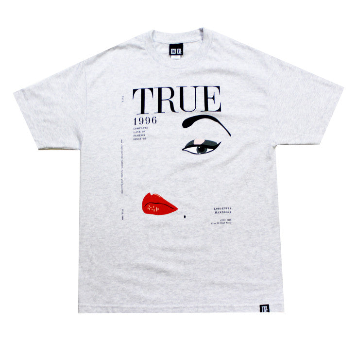 True Vogue Men's T-Shirt Ash