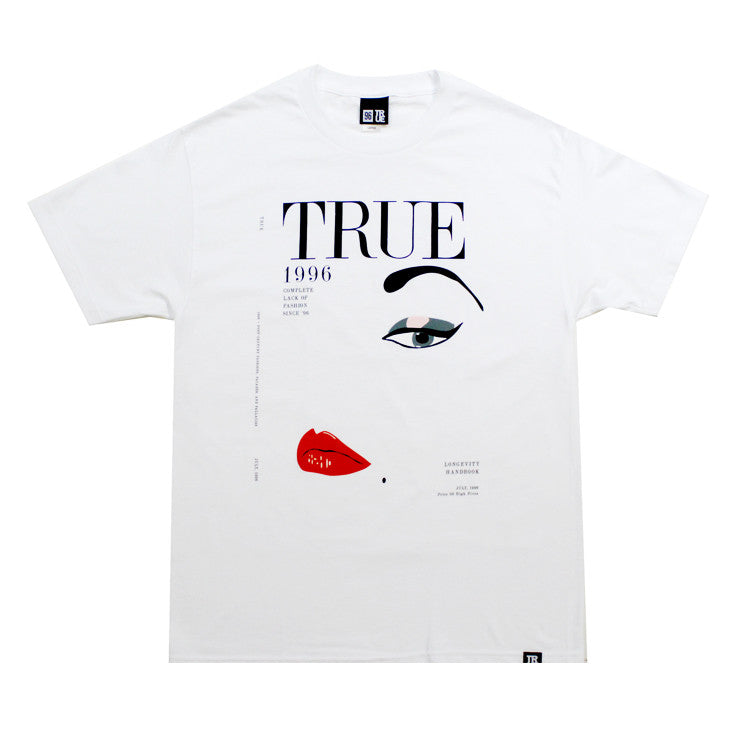 True Vogue Men's T-Shirt White