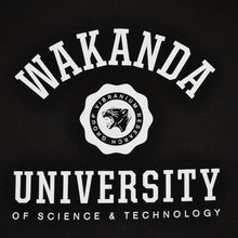 Load image into Gallery viewer, Mens True Wakanda U Long Sleeve T-Shirt Black - Shop True Clothing