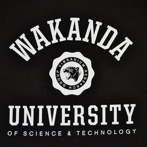 Mens True Wakanda U Long Sleeve T-Shirt Black - Shop True Clothing