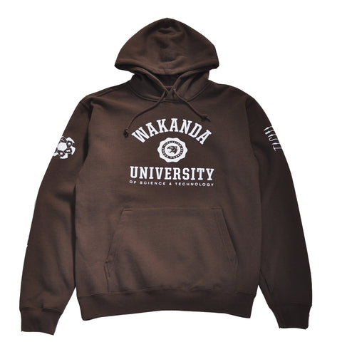 Mens True Wakanda U Hoodie Brown
