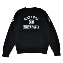 Load image into Gallery viewer, Mens True Wakanda U Crewneck Sweatshirt Black - Shop True Clothing