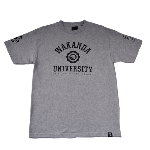 Mens True Wakanda U T-Shirt Heather Grey